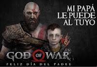 mi padre le puede al tuyo god of war