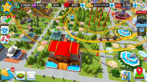 RollerCoaster Tycoon Touch - Build your Theme Park 3.13.9 screenshots 8