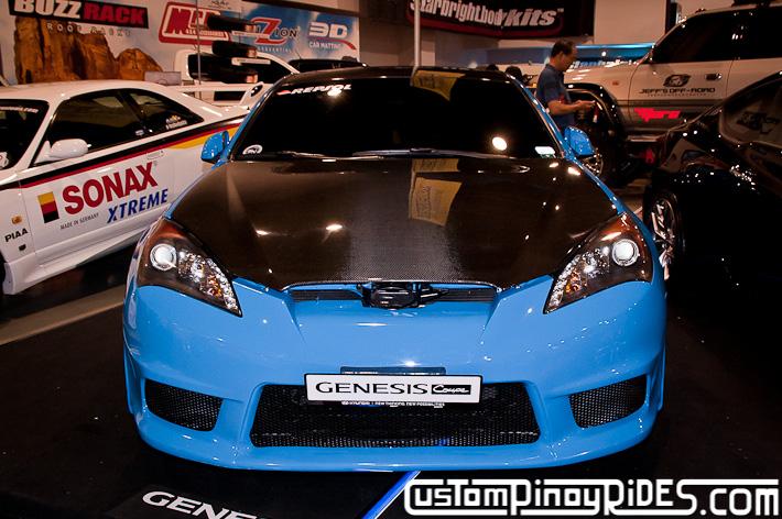 Hyundai Genesis Coupe Body Kit Designs by Atoy Customs 2012 Manila Auto Salon Custom Pinoy Rides pic22