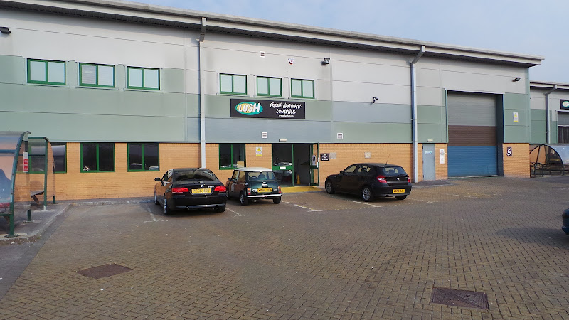 Lush Poole Factory Tour