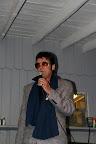 Elvis enters the building