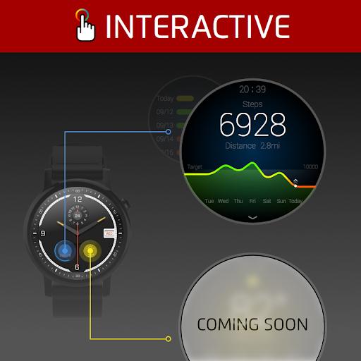 手錶面盤Ticker-神奇面盤出品,專供Android