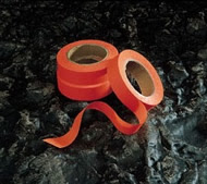 High visibility tape for marking out dog show rings