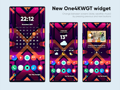 One4KWGT Pro – widgets for KWGT v1.8 [Patched] 4
