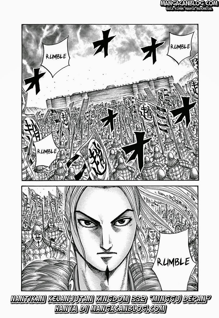Baca Manga Kingdom Chapter 331 Komik Station