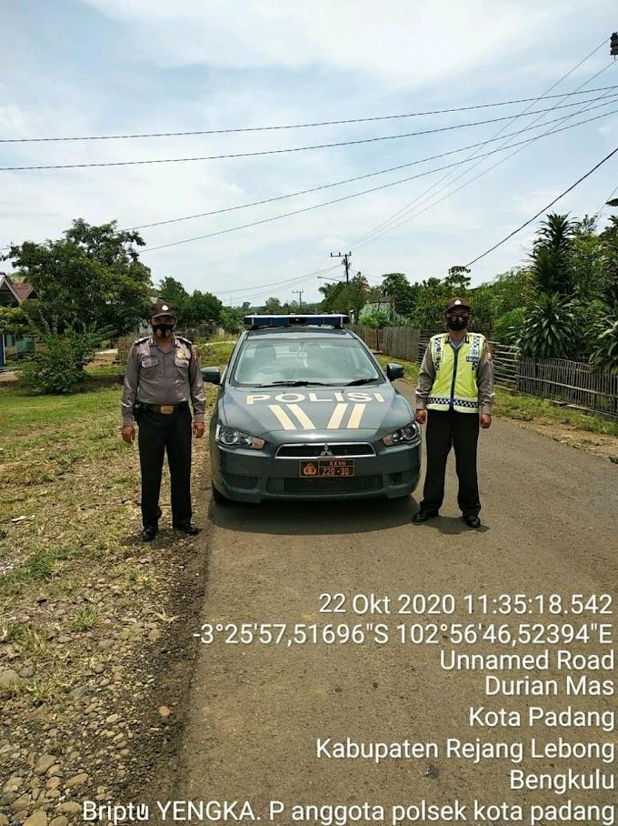 Melaksanakan Patroli Jalur lintas kota Padang - PUT antisipasi tindak kejahatan
