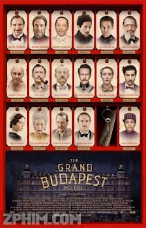 Khách Sạn Đế Vương - The Grand Budapest Hotel (2014) Poster