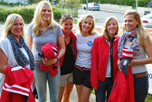 J/24 Italian women's sailing team in Sardinia