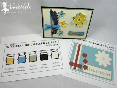 Stampin' Up! - In{k}spire_me #207, Flower Shop, Petite Petals, Work of Art, Sketch Challenge, Color Challenge, In Worte gefasst, Express yourself