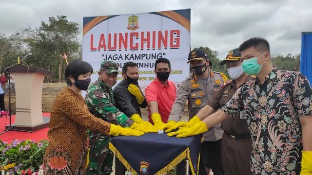 Launching Kampung Tangguh Nusantara, Kapolres Inhu : Semoga Masyarakat Mampu Atasi Masalah Sendiri
