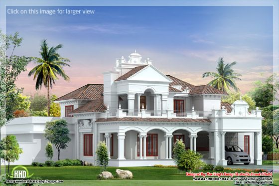 Colonial home design