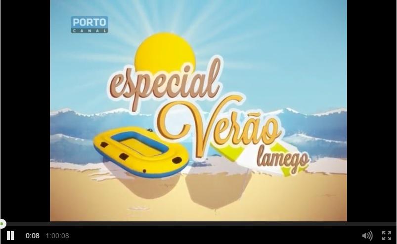 Vídeo - Especial Verão - Lamego - Porto Canal - 31 de Agosto de 2015