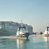 The Suez Canal reopened six days later