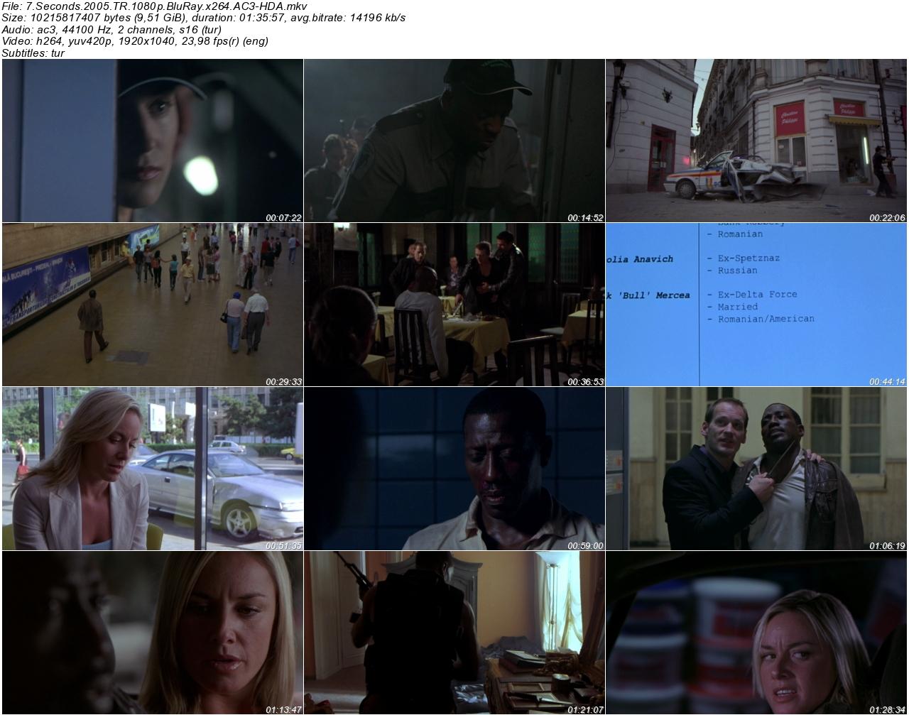 7 Seconds 2005 - 1080p 720p 480p - Türkçe Dublaj Tek Link indir