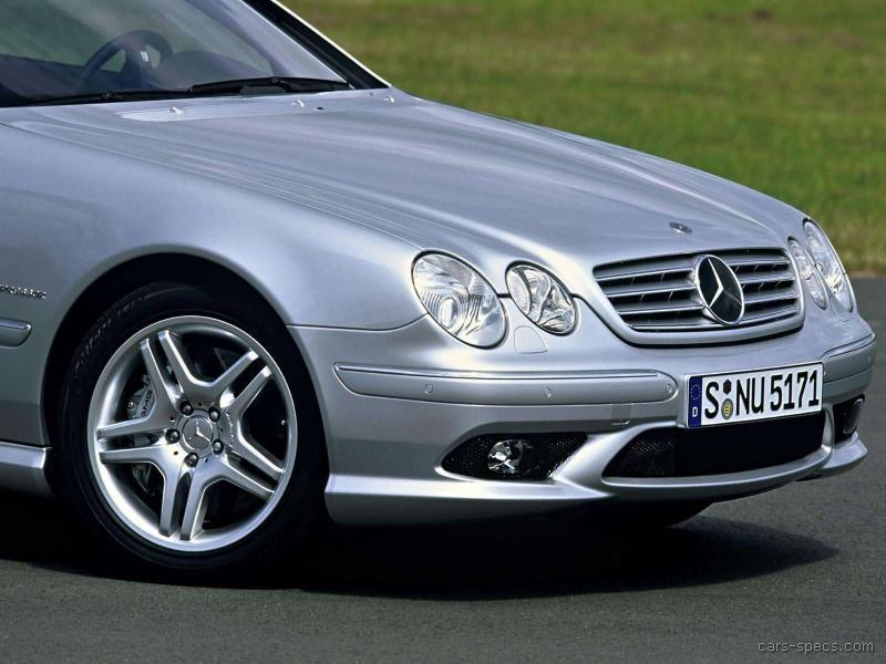 2002 mercedes benz cl class cl55 amg specifications for Mercedes benz cl55 amg price