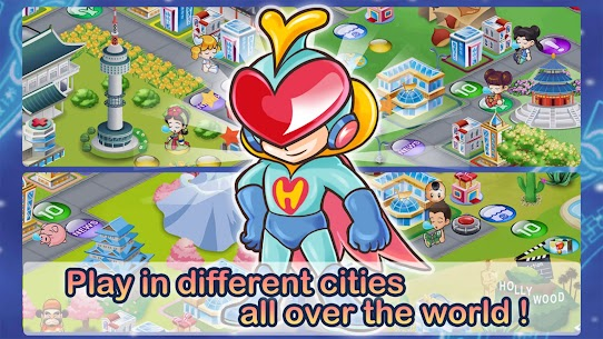 Richman 4 Fun Mod Apk 5.0 (Unlock All Maps and Characters) 3