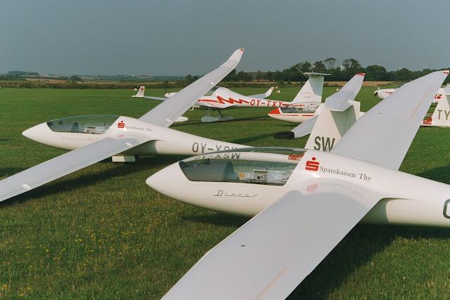 Discu B og Ventus 2cT, god til hyggeflyvning, stæk og konkurencebrug