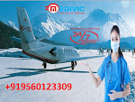 Take Life-Saving Medical Care Air Ambulance Service in Delhi by Medivic