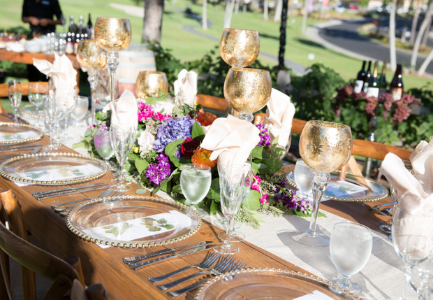 photo set table at Welk Resorts