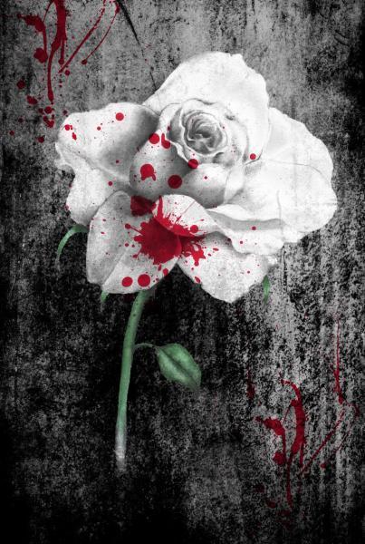 Bloody Rose By Georgia Caldera, Bloody