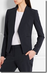 Theory stretch crepe jacket