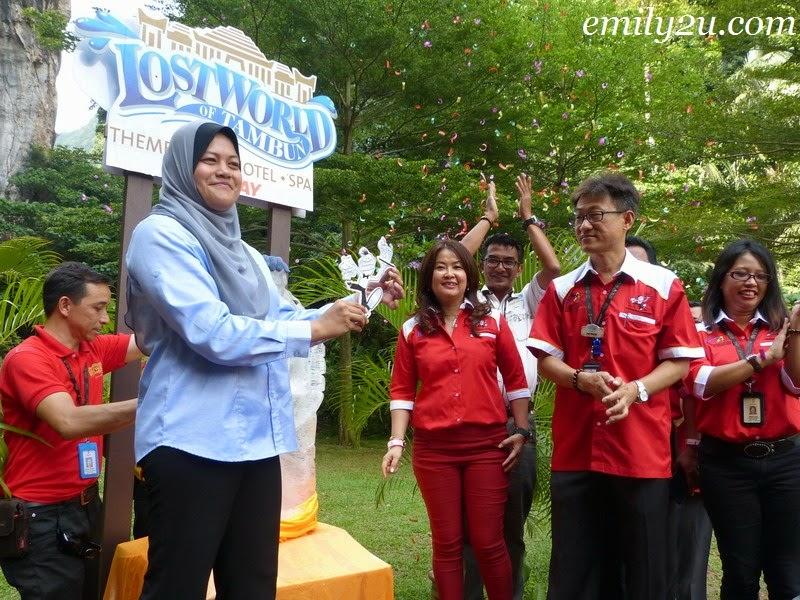 Launch of Ipoh International Waiters Race