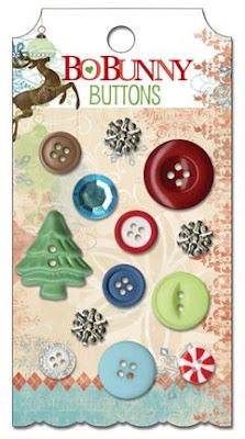 Blitzen Buttons (Bo Bunny)