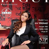 LiGui 2015.06.30 网络丽人 Model 微微 [57P] cover.jpg