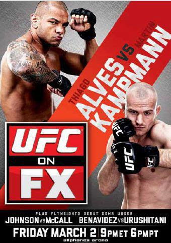 Download UFC On FX: Alves vs Kampmann