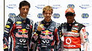 Top 3 Qualifiers: 1. Vettel 2. Webber 3. Hamilton