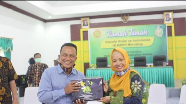 Kepala UPT se-Indonesia Terkesan dengan Etos Kerja BBPP Binuang