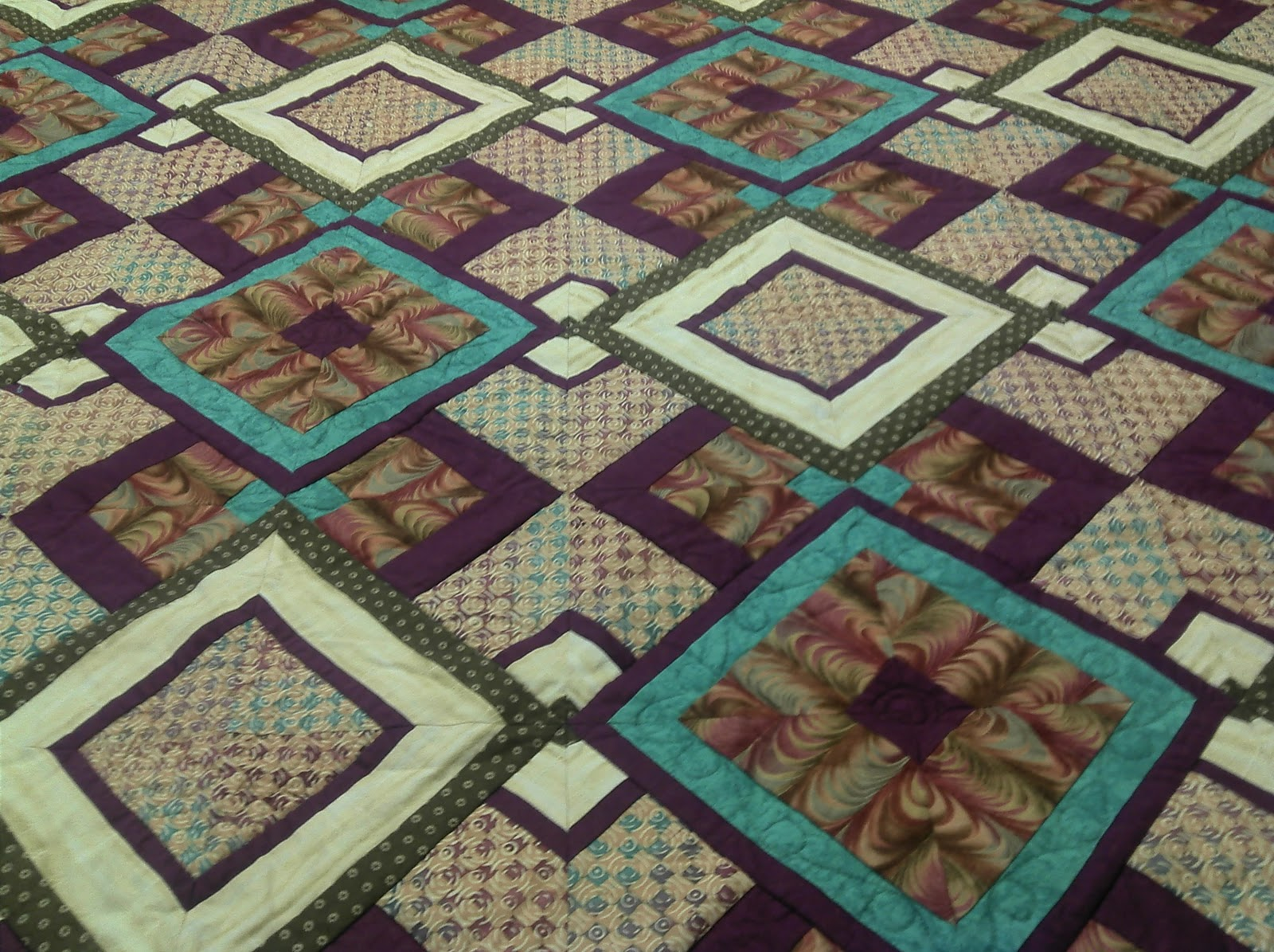 1000+ images about 1 Fabric Quilts on Pinterest Quilt, Fabrics and Border print