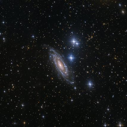 NGC 1964 e estrelas