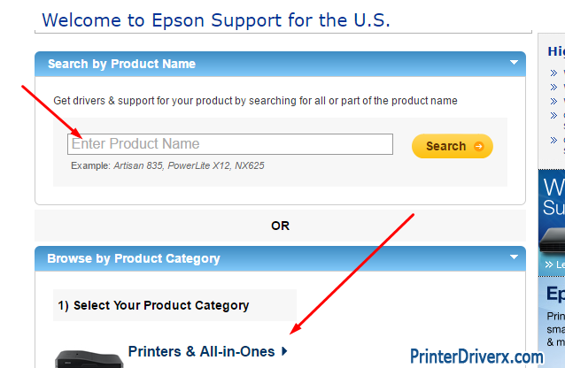Did not find your Epson Stylus TX400 printer driver download