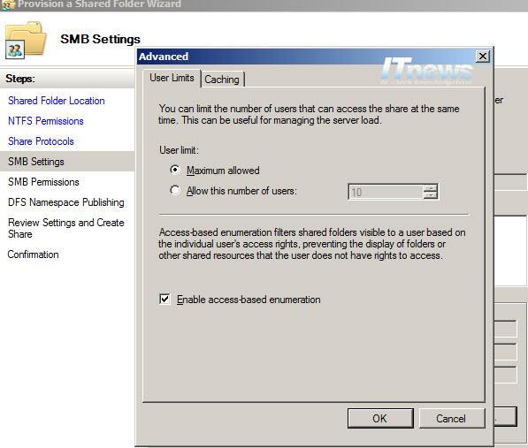Access-Based-Enumeration