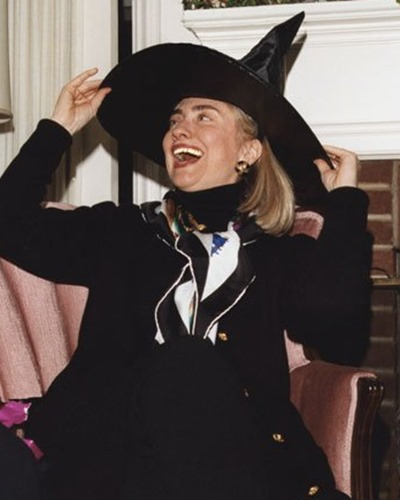 hillary witch