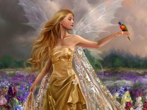 Bird And Fairy, Fairies Girls
