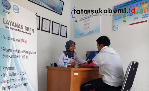 Klinik Pratama BNNK Sukabumi Layani Pembuatan SKPN Gratis