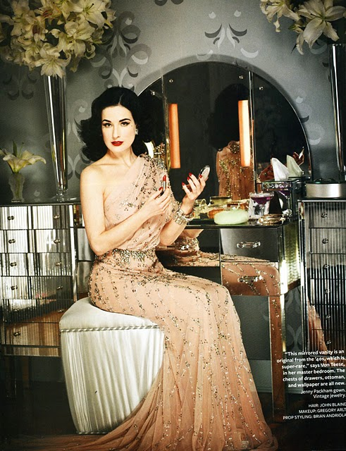 Oh so darling design style old hollywood retro glamour - Old hollywood glamour decor ...