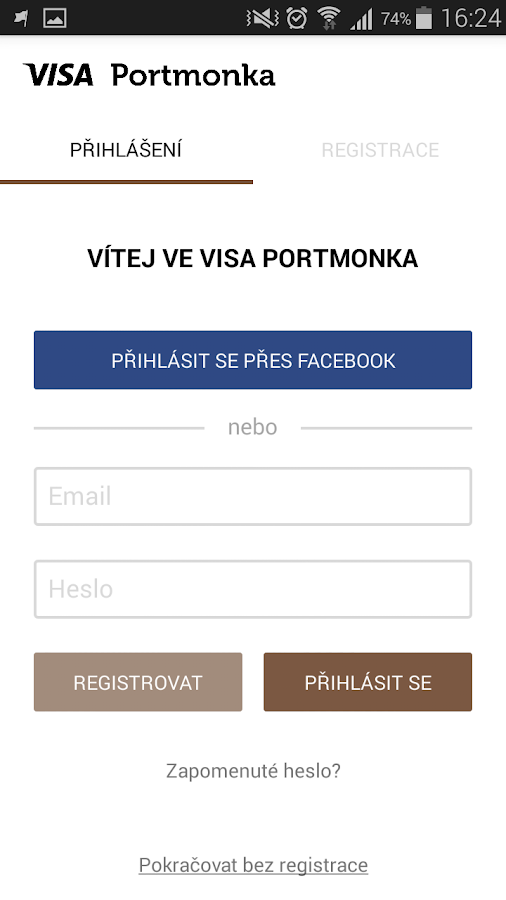 Visa Portmonka- screenshot