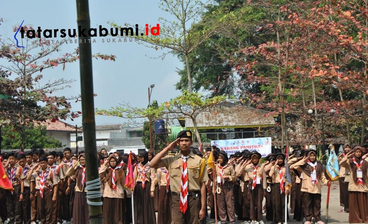 Perkemahan Wirakarya Hari Pramuka ke-58 Sukabumi