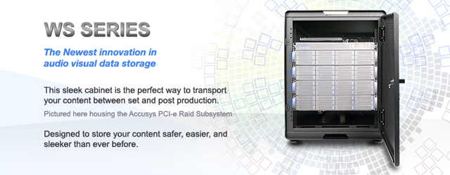 WS Series: Designed to store your content safer, easier, and sleeker than ever before.