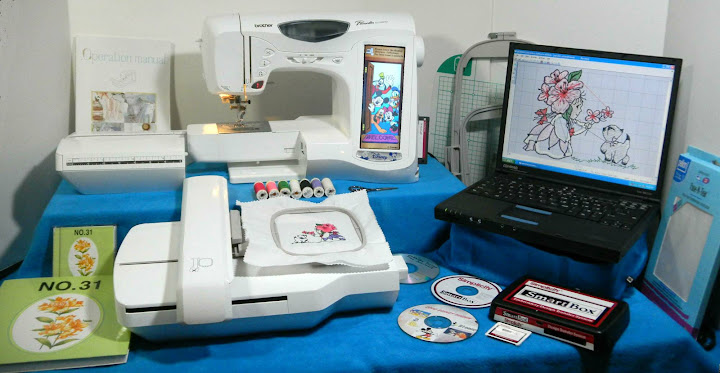 ult2003d embroidery machine