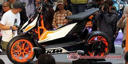 Skutik Listrik KTM E-Speed