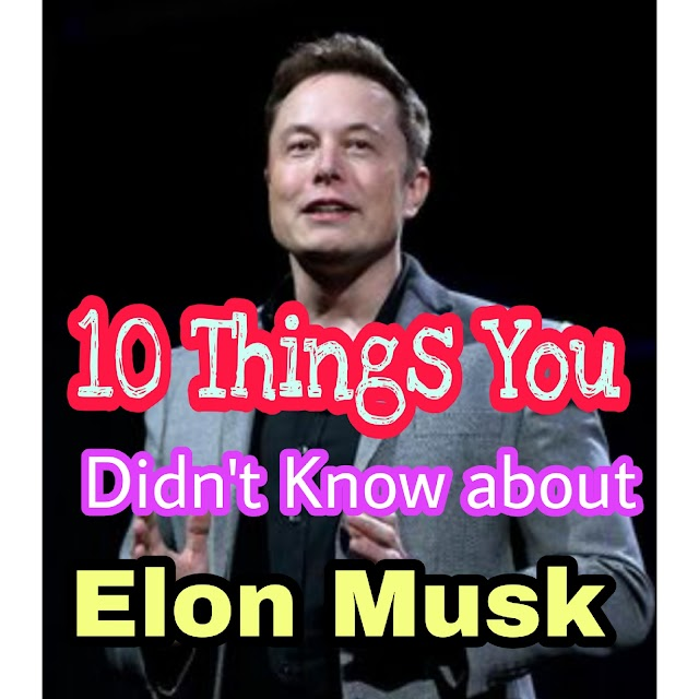 10 Things You Didn't Know About Elon Musk -1Millionsfacts