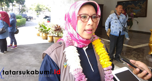 Kabid Kesmas Dinas Kesehatan Provinsi Jabar Sri Sudartini // Foto : Dian Syahputra Pasi