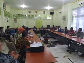 Rapat Koordinasi Persiapan Reakreditasi Prodi PAI Pada Tingkat Rektorat