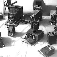 Macchine fotografiche d'epoca di
