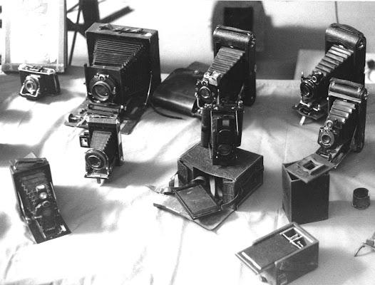 Macchine fotografiche d'epoca di Antonio De Felice