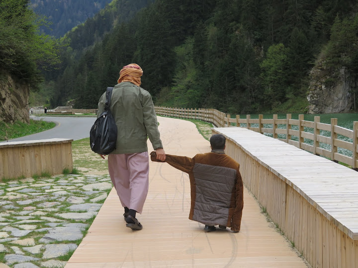 A father and his son in Rize, Turkey. From #WidenYourWorld: Most Influential Travel Bloggers Share the Best of Turkey